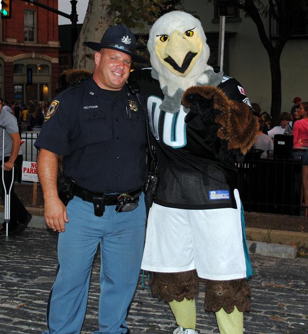 Police Officer Eagles