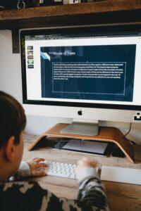 remote learning ergonomics